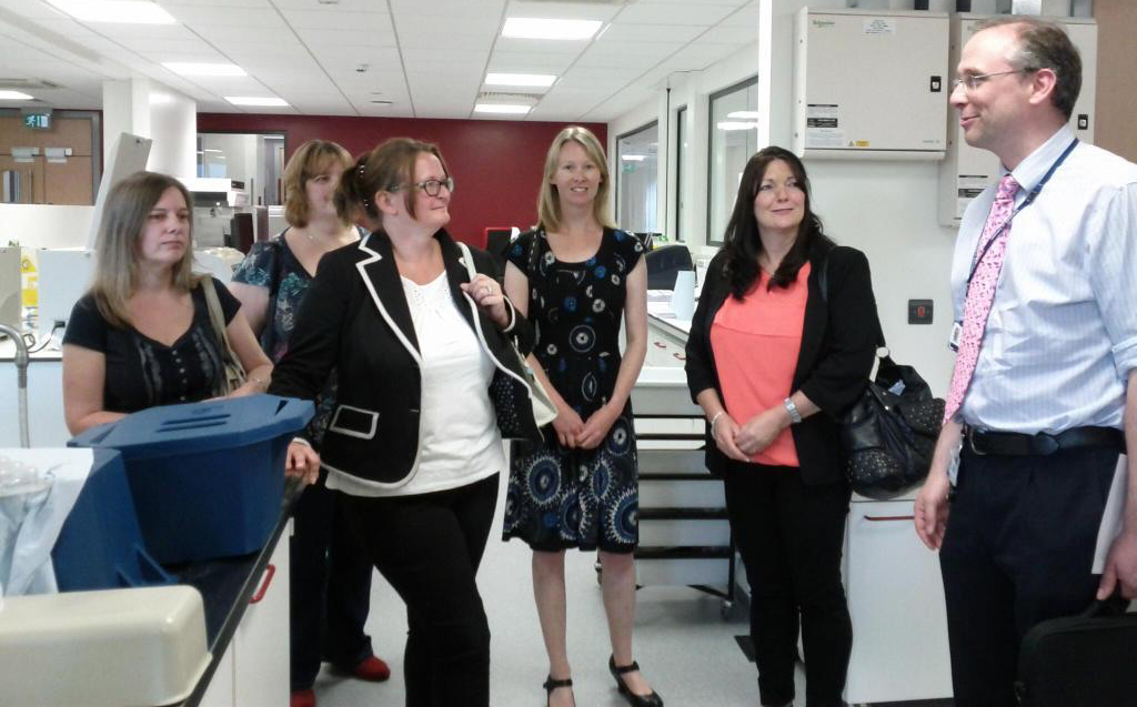 SCAD patients visit Leicester Cardiovascular BRU