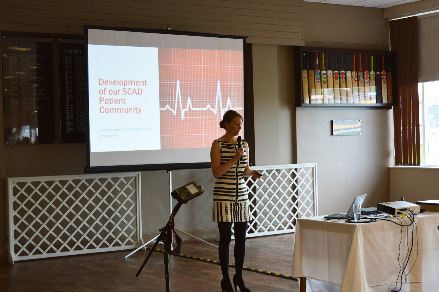Rebecca Breslin gives an update on patient group activities