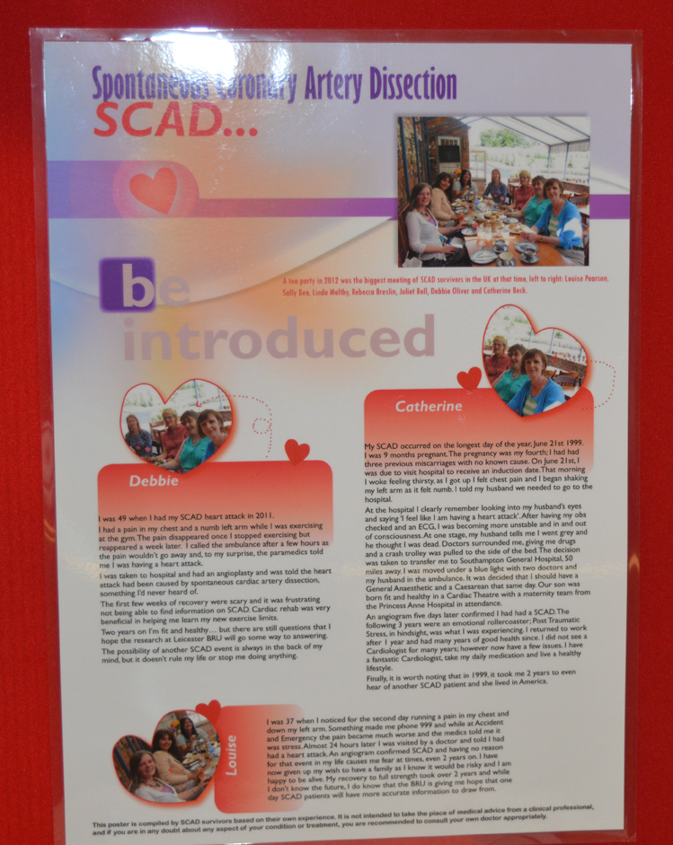 SCAD stories are important in raising awareness