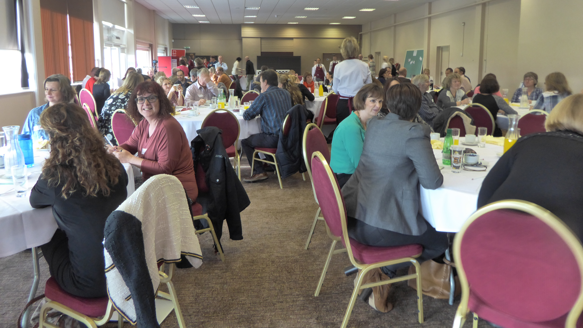 87 patients and supporters had a full but worthwhile day at the conference