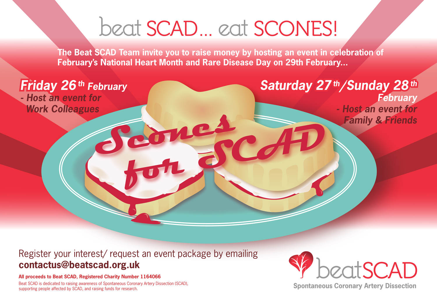 Scones for SCAD 2016