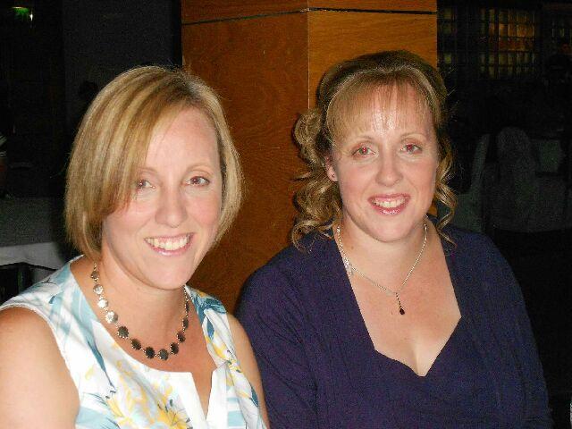 Karen and Jennifer