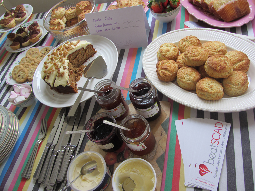 Tasty cakes at Louise Pearson's Scones for SCAD event