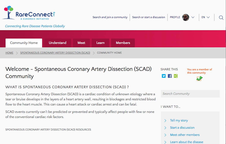 SCAD Community Rare Connect