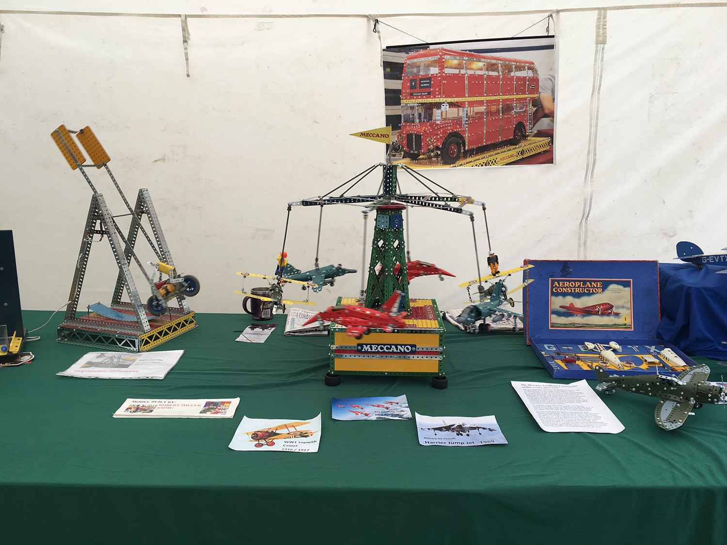 Melton & District Model Show Beat SCAD Meccano display