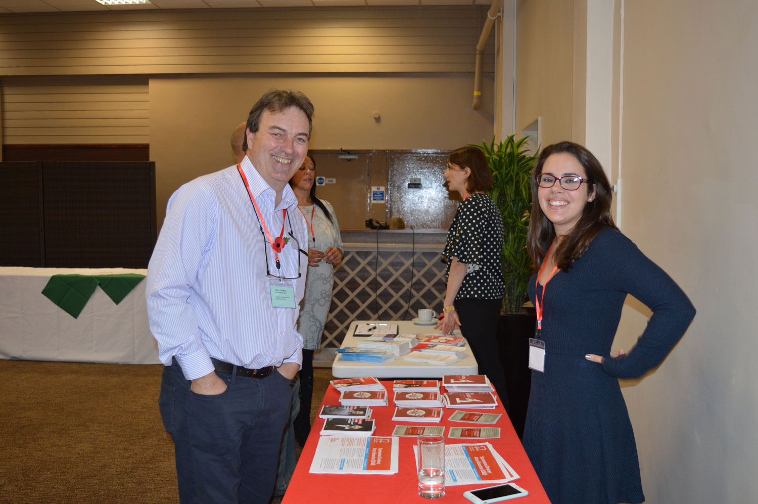 The BHF provided useful information for delegates, family and friends
