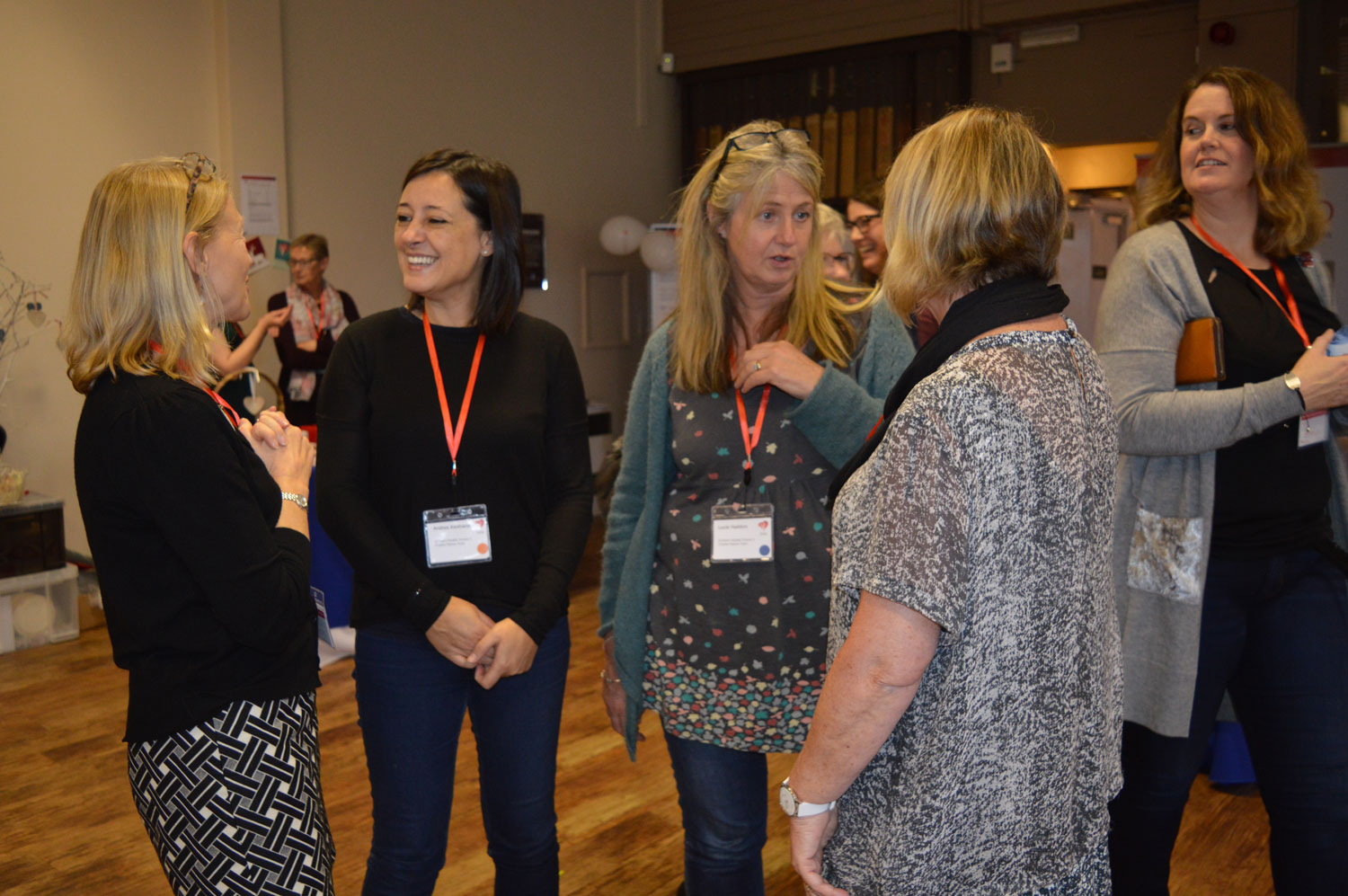 SCAD survivors and families had lots of opportunities to talk to and meet others