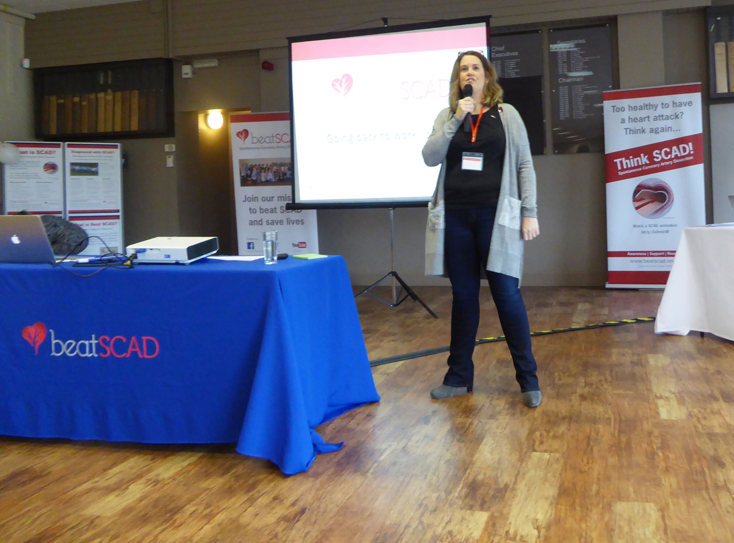 Harriet Mulvaney gave some advice on how to approach returning to work following a SCAD event