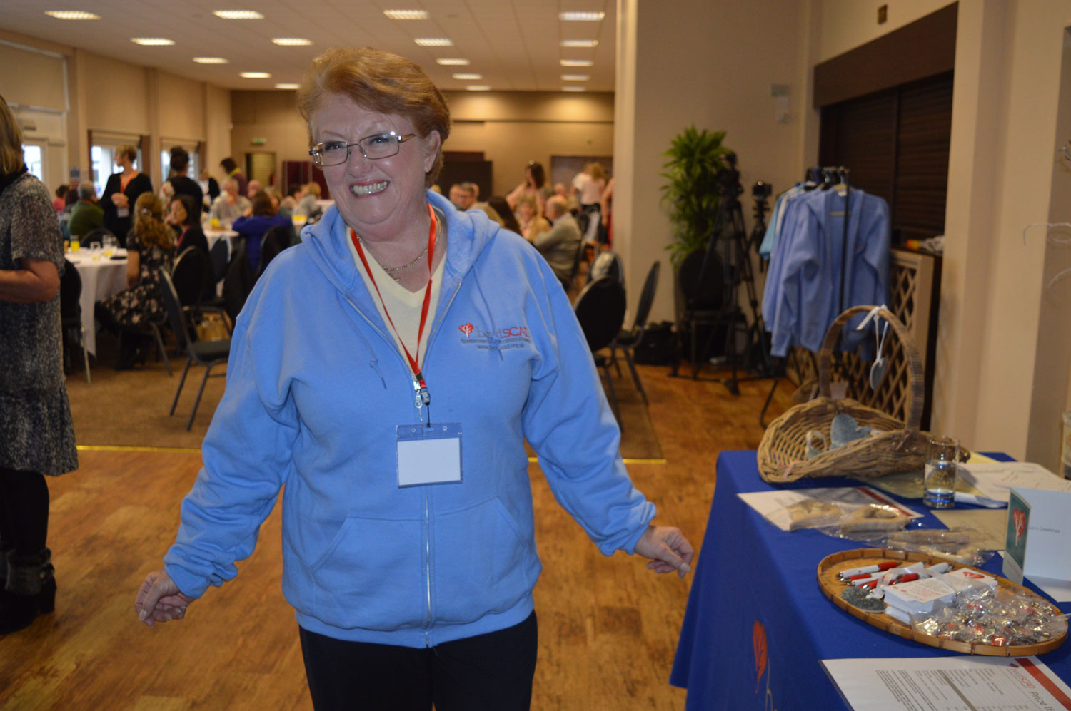 Delegates purchased Beat SCAD-branded merchandise, including hoodies