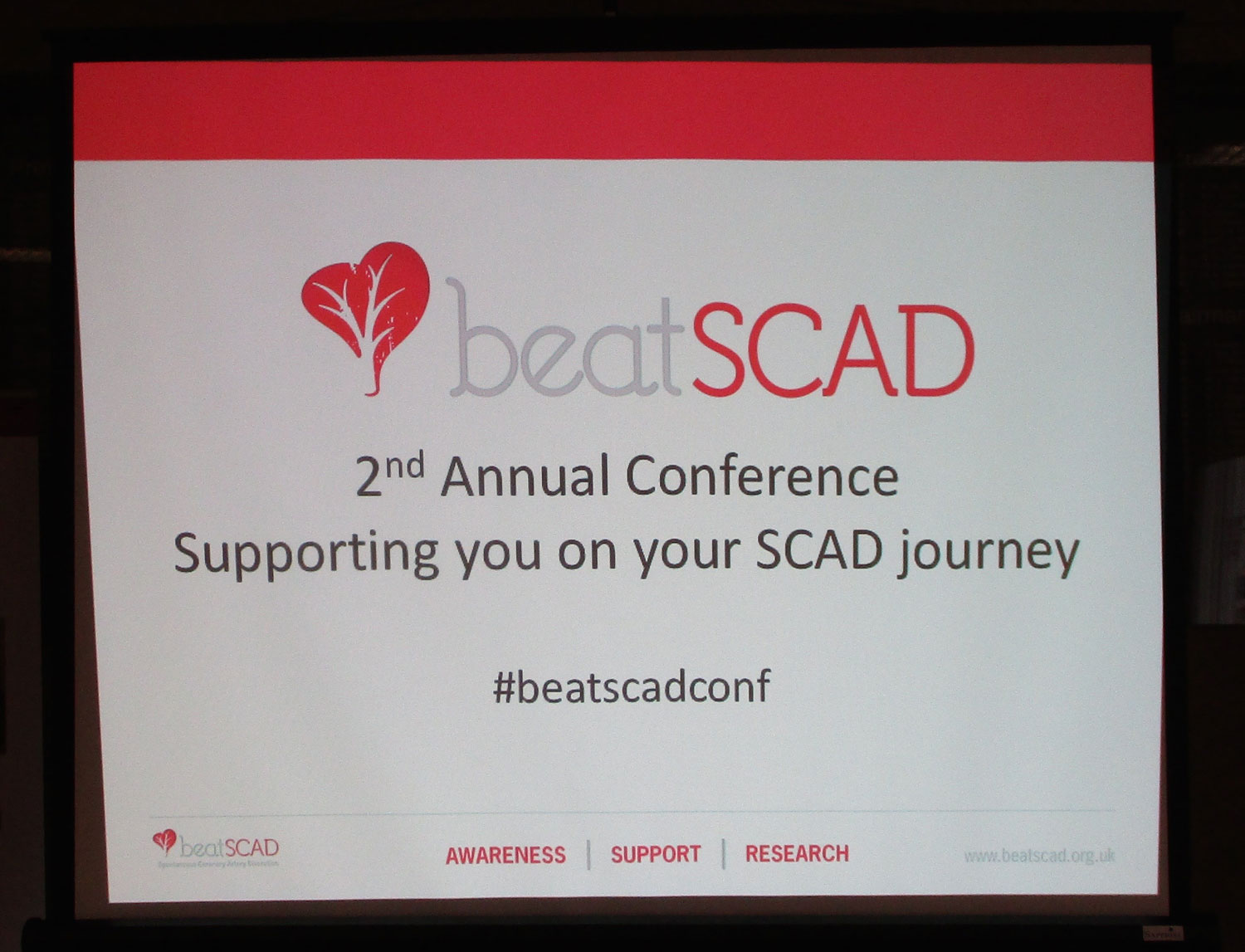 Beat SCAD's second conference focused on supporting patients, families and friends