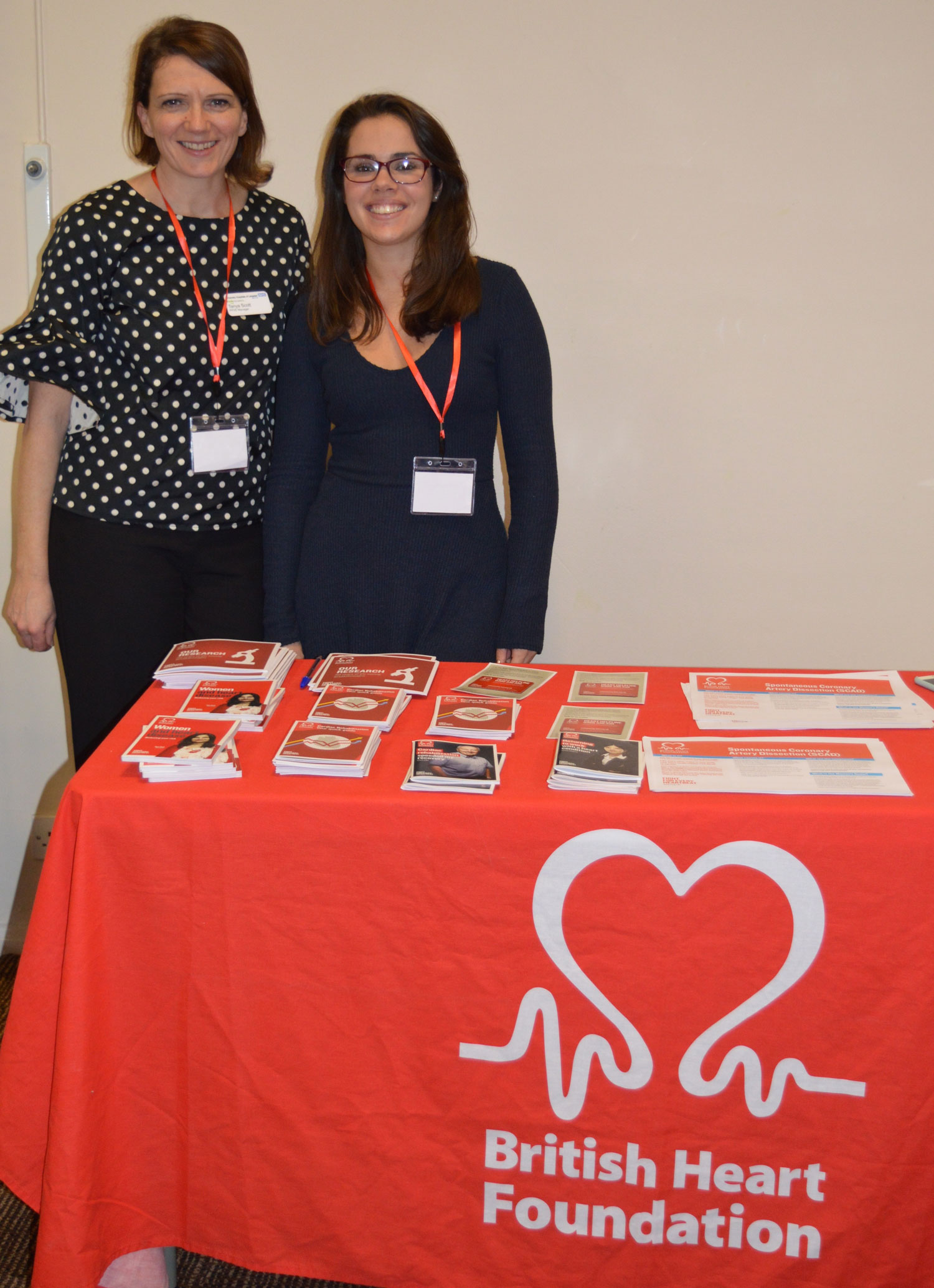 Representatives from the NIHR and BHF attended the conference