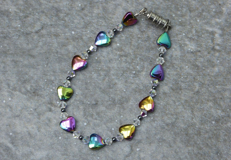 Hematite-bracelet