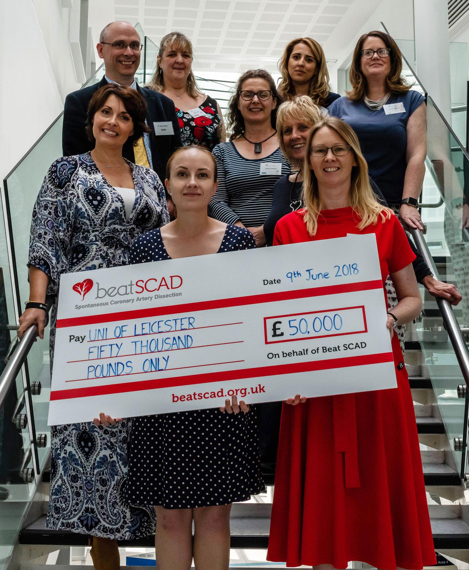 Leicester BRU SCAD project website
